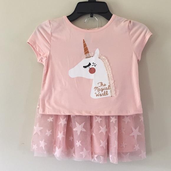 082b89301a286 btween Shirts & Tops   Unicorn Shirt And Star Tutu   Poshmark